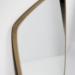 specchiere dal design nordico con profilo in rovere massiccio naturale oliato